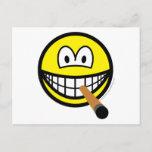 Cigar smile   postcards