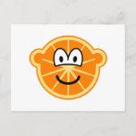 Orange buddy icon   postcards