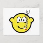 Smoking buddy icon   postcards