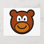 Teddy bear buddy icon   postcards