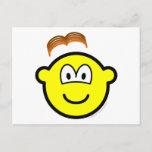 Wig losing buddy icon   postcards