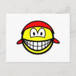 Bandana smile   postcards