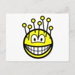 Pincushion smile   postcards