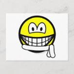 White belt smile   postcards