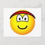 Headband emoticon   postcards
