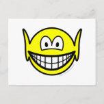 Elf smile   postcards
