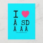 i [Love heart]   sd    i [Love heart]   sd    Postcards
