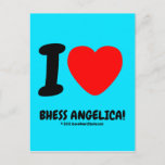 i [Love heart]  bhess angelica! i [Love heart]  bhess angelica! Postcards