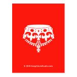 [Crown upside down]  Postcards