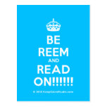 [Crown] be reem and read on!!!!!!  Postcards