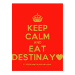[Crown] keep calm and eat destinay♥  Postcards