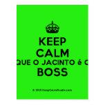 [Crown] keep calm que o jacinto é o boss  Postcards
