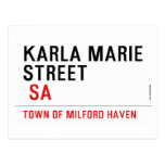 Karla marie STREET   Postcards