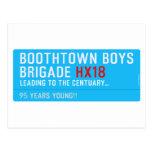 boothtown boys  brigade  Postcards