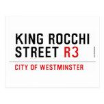 king Rocchi Street  Postcards
