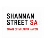Shannan Street  Postcards