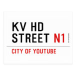 KV HD Street  Postcards