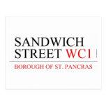 SANDWICH STREET  Postcards