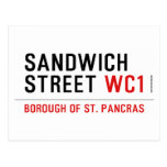 Sandwich Street  Postcards