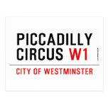 piccadilly circus  Postcards