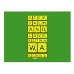 keep calm and love Retha wa Bongz  Postcards