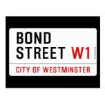 Bond Street  Postcards