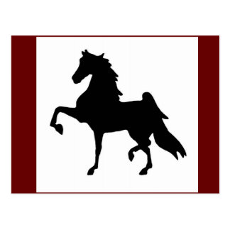 Postcards - American Saddlebred Silhoutte