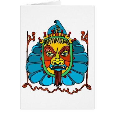 Aztec Themed Postcards AZTEC