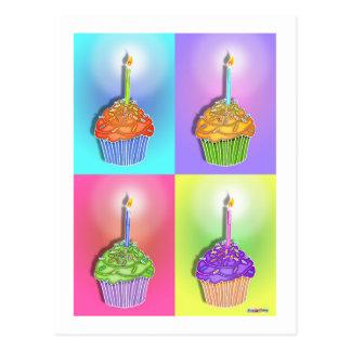 Postcards - Birthday Cupcakes