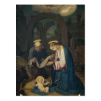 Postcards (Blank/Custom): Birth of Christ
