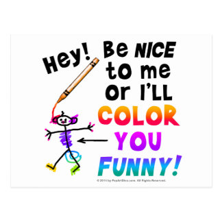 Postcards - Color You Funny