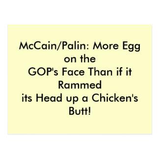 Postcards, egg on GOP's face Postcard