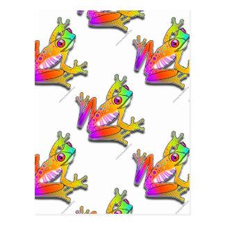 POSTCARDS - FROG POP ART