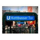Postcards from Berlín: Kottbusser portería Postal