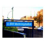 Postcards from Berlín: Mehringdamm Postal