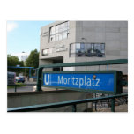 Postcards from Berlín: Moritzplatz Postal