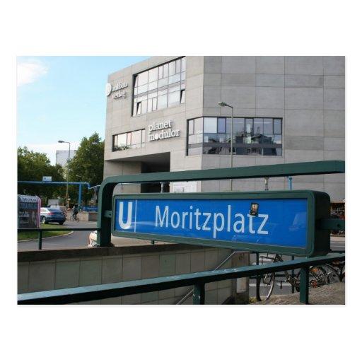 Postcards from Berlín: Moritzplatz Tarjetas Postales