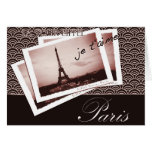 Postcards from Paris Vintage Photograph Greeting Card