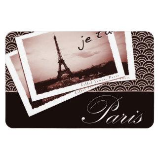 Postcards from Paris Vintage Photograph Magnet