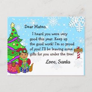 Postcards from Santa: Holiday Ethnic Elf