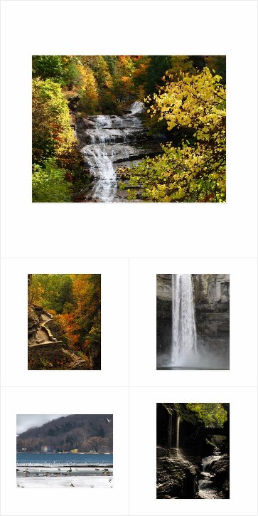Postcards from the Finger Lakes Region of New York