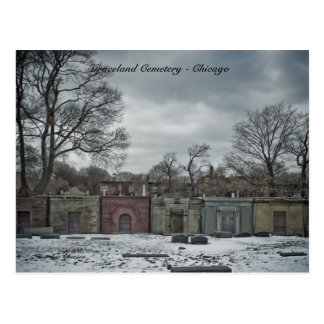 Postcards Graceland Cemetery - Chicago, Novembe...