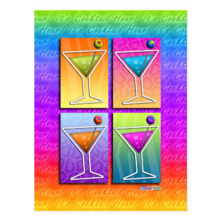 Postcards - Pop Art Martinis
