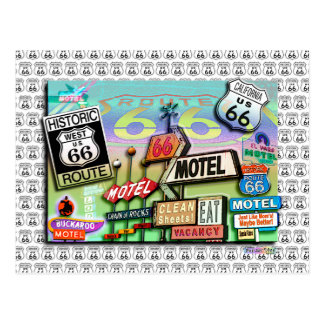 Postcards - Route 66 The Mother Road 18SQ