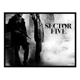 Postcards: Sector Five Postcard