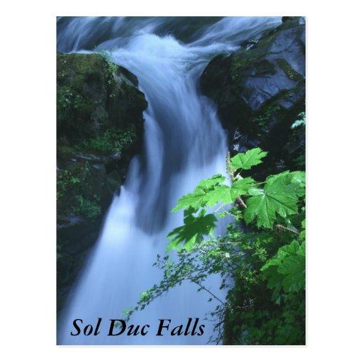 Postcards: Sol Duc Falls