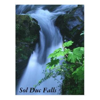 Postcards: Sol Duc Falls Postcard