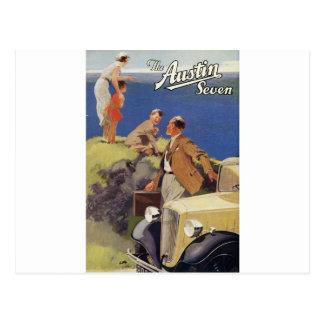 Poste Card1935-AustinSeven Tarjetas Postales
