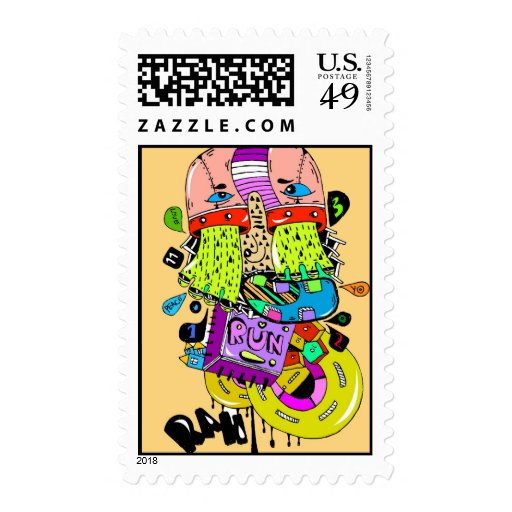 poste coloreado envio