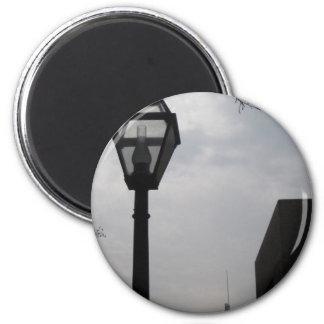 Poste de la lámpara imanes